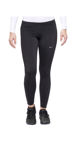 Nike Power Tech Running Tight Women Black/Reflective Silver